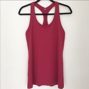 Lululemon cool racerback 2 ruby red